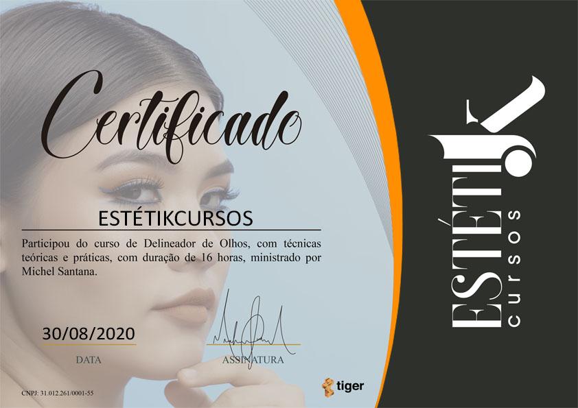 Certificado Delineador