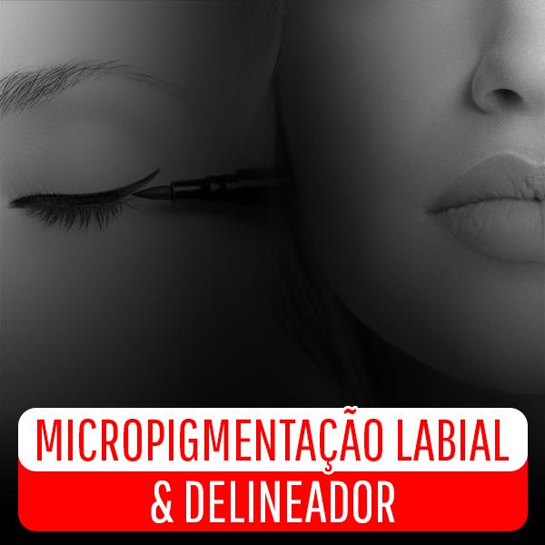 Capa - Micropigmentação Labial e Delineador