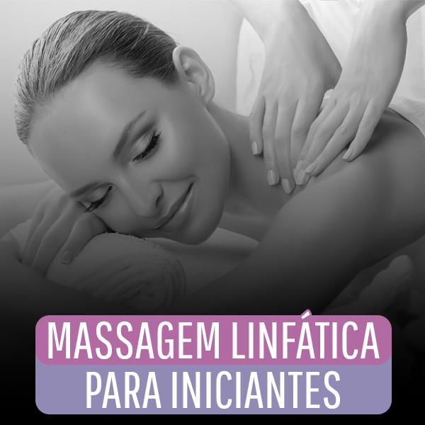 Capa - Massagem Linfática Para Iniciantes