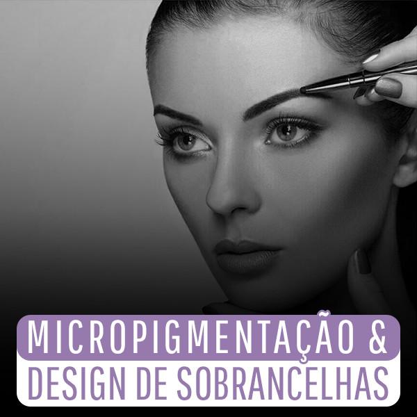 Capa - Micropigmentação & Design de Sobrancelhas